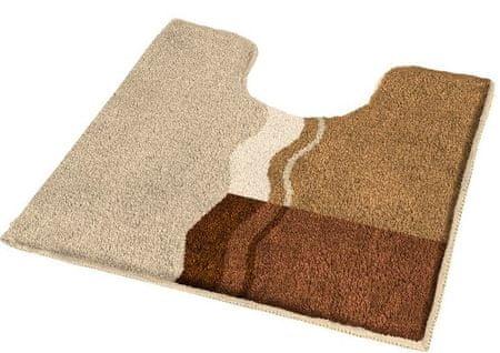 Kleine Wolke Fürdőszobai szőnyeg Vanessa 55 x 55 cm barna