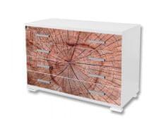 Dimex Nálepky na nábytok - Letokurhy, 85 x 125 cm