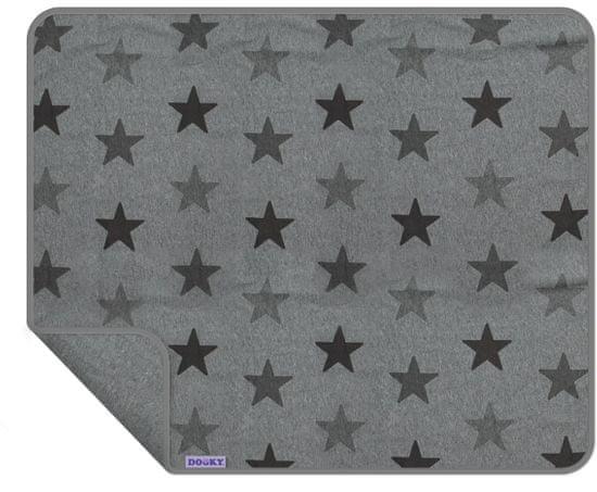 Dooky Blanket UNI Grey Stars