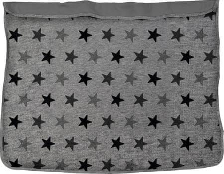 Dooky Blanket Grey Stars / Grey