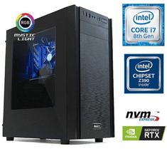 MEGA namizni računalnik 6000X i7-8700/16GB/SSD500GB+2TB/RTX2060/FreeDOS (PC-G6974X-M)