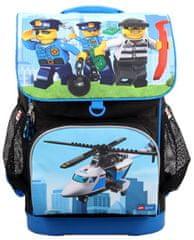 LEGO City Police Chopper Optimo - iskolatáska , 2 részes szett