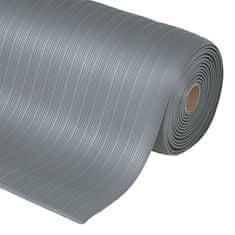 Šedá protiúnavová průmyslová rohož Plus, Airug - 0,94 cm