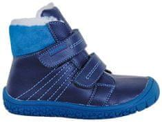Protetika chlapčenské zimné barefoot topánky Artik