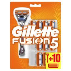 Gillette Fusion5 Holiaci Strojček + 10 holiacich hlavíc
