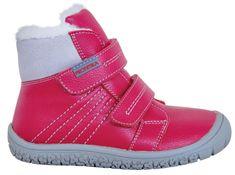 Protetika dívčí zimní barefoot boty Artik - zánovní