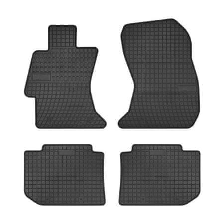 MAMMOOTH Koberce gumové, Subaru Levorg, XV (kombi, SUV) od 03.2012, sada 4 ks, černé