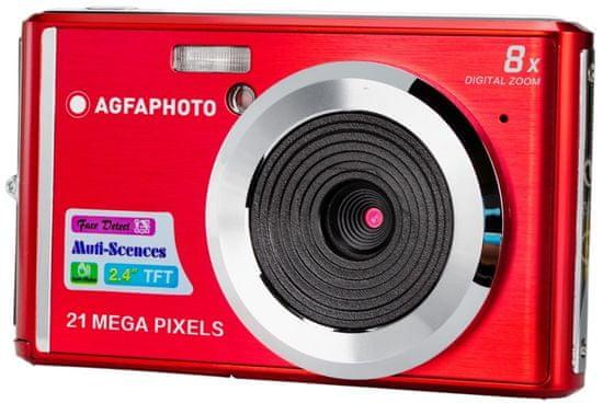 Agfa Compact DC 5200, červený
