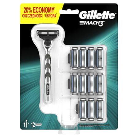Gillette Mach3 Borotva + 11 Pótfej