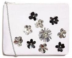 Nalí ženska torbica bijela