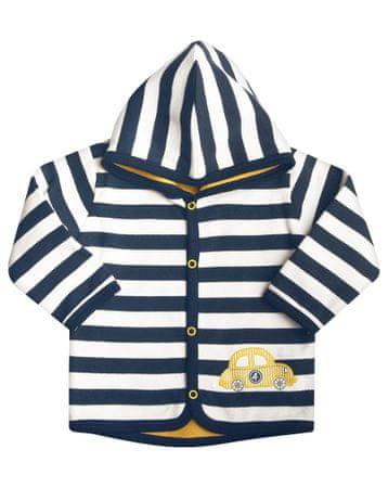 Nini fiú pulóver 74 fehér/kék