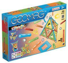 Geomag zestaw magnetyczny Confetti 68