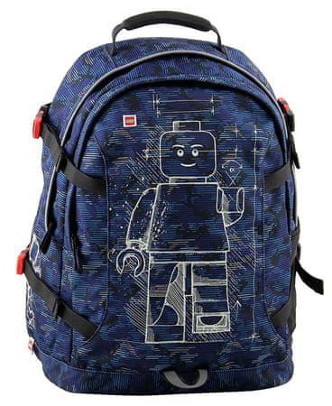 LEGO ruksak Minifigures Blue Camo Tech Teen