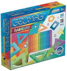 Geomag zestaw magnetyczny Rainbow 32