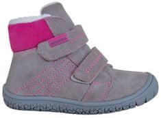 Protetika dívčí zimní barefoot boty Artik
