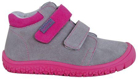 Protetika dívčí barefoot boty Margo 27 šedá