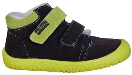 Protetika chlapčenské barefoot topánky Margo 27 modré/zelené