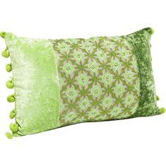 KARE Polštář Ornaments 30×50 cm - zelený