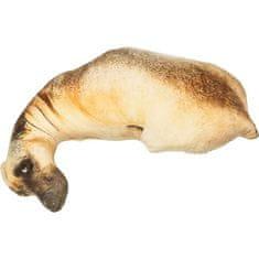 KARE Polštář Shape Dog 43×70 cm - hnědý