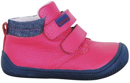 Protetika dievčenské barefoot topánky Harper 19 ružové