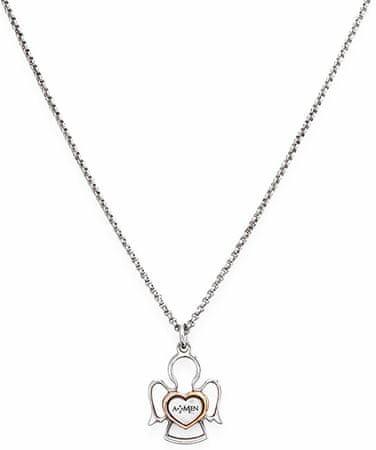 Amen Originalna srebrna ogrlica Angels CLAN3 srebro 925/1000