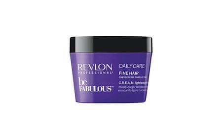 Revlon Professional Be Fabulous Daily Care hidratáló hajmaszk vékonyszálú hajra(Cream Lightweight Mask) (mennyiség 8432