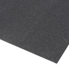 Černá olejivzdorná protiskluzová průmyslová rohož Grit Trax - 90 cm a 0,21 cm