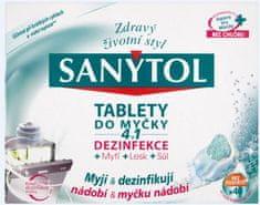 SANYTOL Tablety do myčky 4v1 40 ks