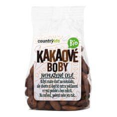 Country Life Kakaové boby nepražené celé BIO 100g