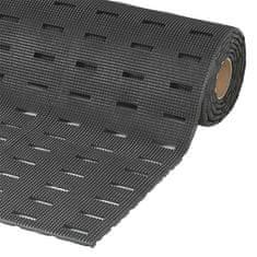 Černá olejivzdorná protiskluzová protiúnavová rohož Cushion Dek - 91 cm a 1,1 cm