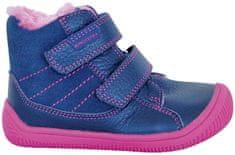 Protetika dievčenské zimné barefoot topánky Kabi