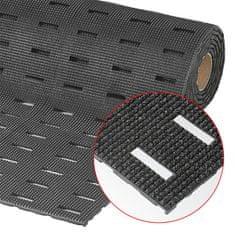 Černá olejivzdorná protiskluzová protiúnavová rohož Grip Step, Cushion Dek - 91 cm a 1,1 cm