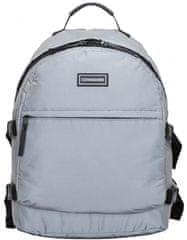 CONSIGNED plecak unisex, srebrny