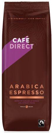 Cafédirect Arabica Espresso zrnková káva 1kg