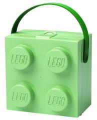 LEGO Doboz fogantyúval, katonazöld