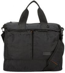 CONSIGNED torba za prenosni računalnik, unisex, črna