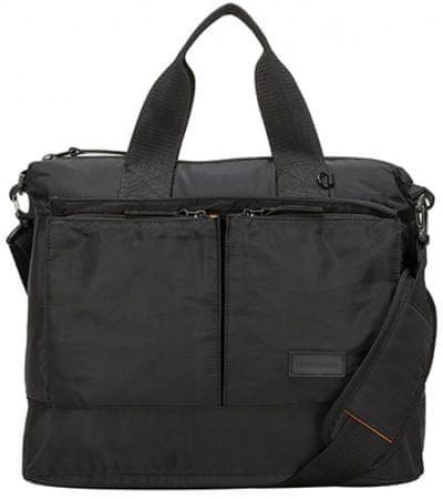 CONSIGNED unisex černá taška na notebook