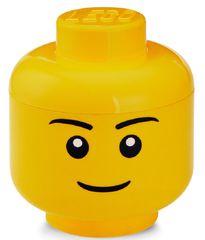 LEGO Tárolófej (S méret) - fiú