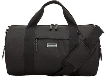 CONSIGNED unisex černá cestovní taška