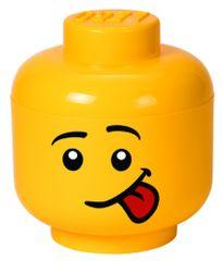 LEGO Tárolófej (L méret) - silly