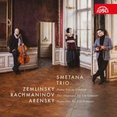 Smetanovo trio: Zemlinsky, Rachmaninov, Arensky: Klavírní tria - CD