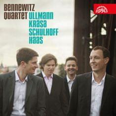 Bennewitzovo kvarteto: Ullmann / Krása / Schulhoff / Haas - CD