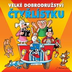 Various: Velké dobrodružství Čtyřlístku - CD