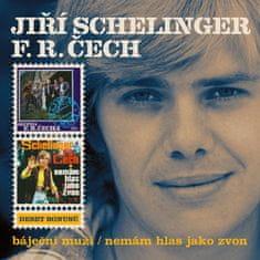 Schelinger Jiří, Čech František Ringo: Báječní muži / Nemám hlas jako zvon (2x CD) - CD