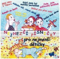 Nejhezčí písničky pro nejmenší dětičky - CD