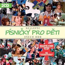 Nej písničky pro děti všech dob (2x CD) - CD