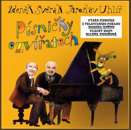 Svěrák a Uhlíř: Písničky o zvířatech (2x CD) - CD