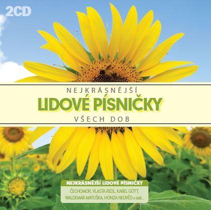Nejkrásnější lidové písničky všech dob (2x CD) - CD