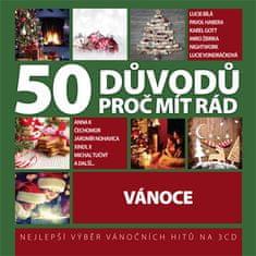 50 důvodů proč mít rád Vánoce (3x CD) - CD