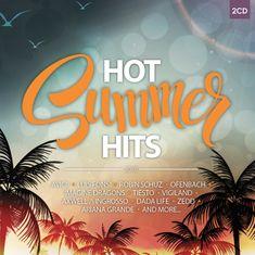 HOT SUMMER HITS 2018 (2x CD) - CD